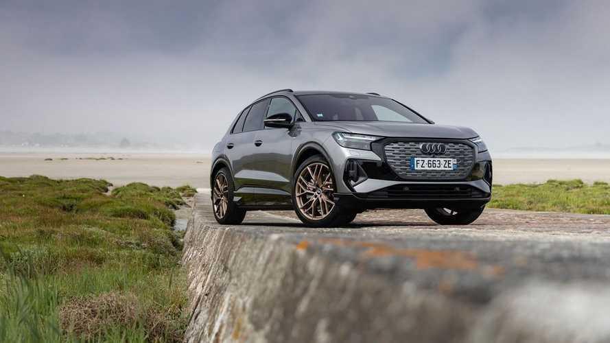Essai Audi Q4 e-tron (FRANCE)