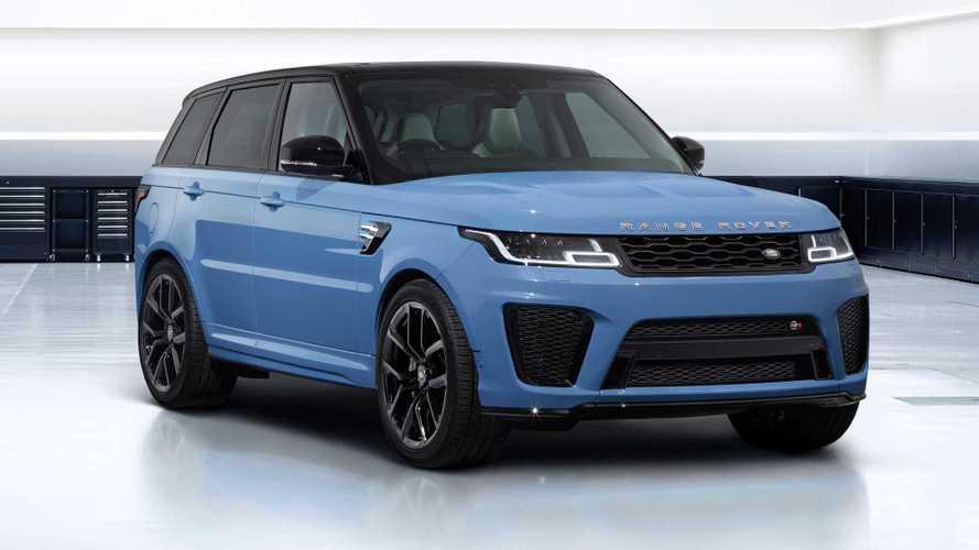 Range Rover Sport SVR Ultimate Edition mit visuellen Upgrades