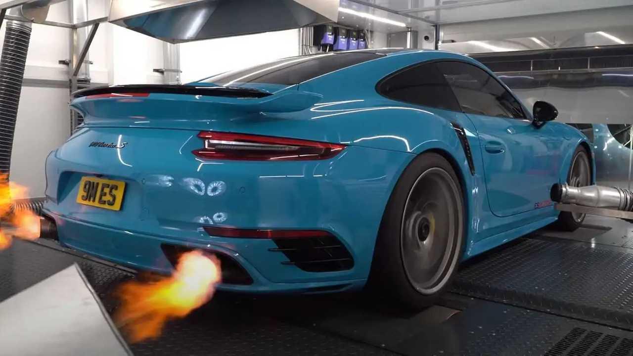 Porsche 911 Turbo S от ES Motors
