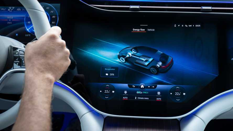 2022 Mercedes-Benz EQS First Drive