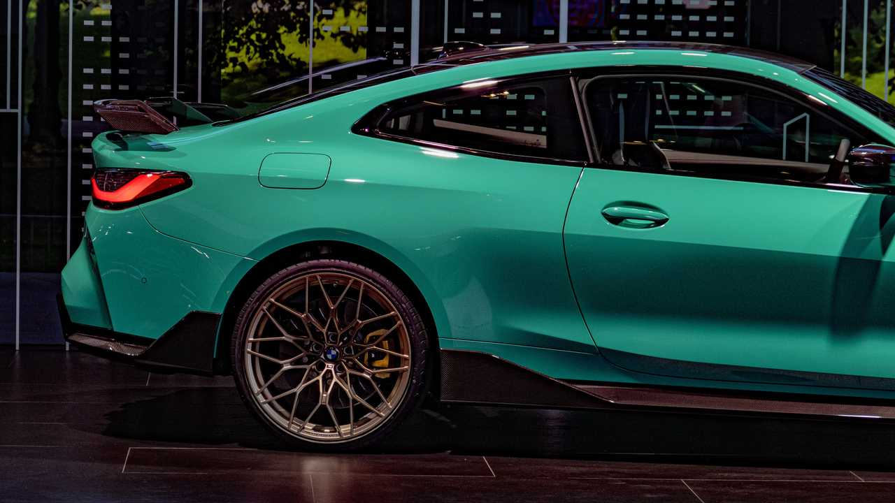 BMW M4 Competition Mint Green