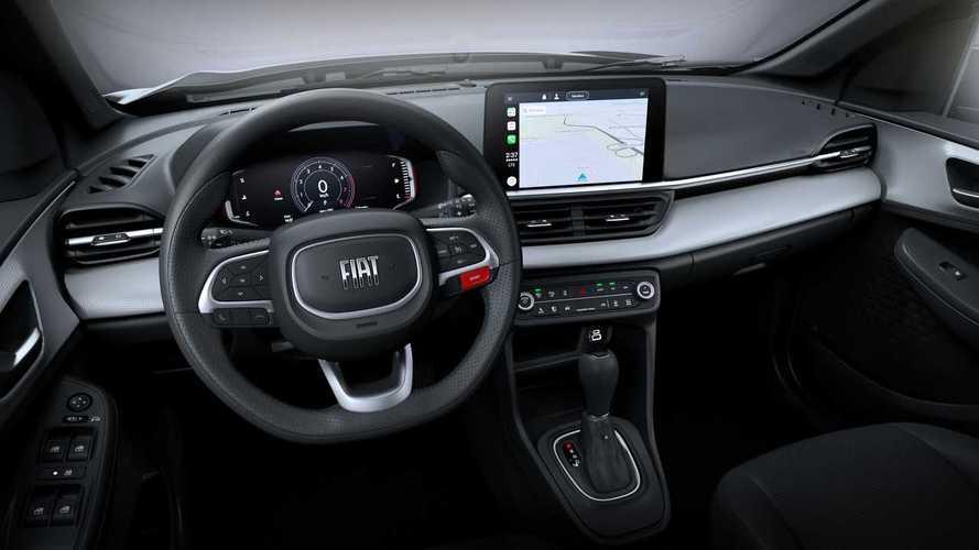 Novo Fiat Pulse 2022 revela interior com painel digital da Toro