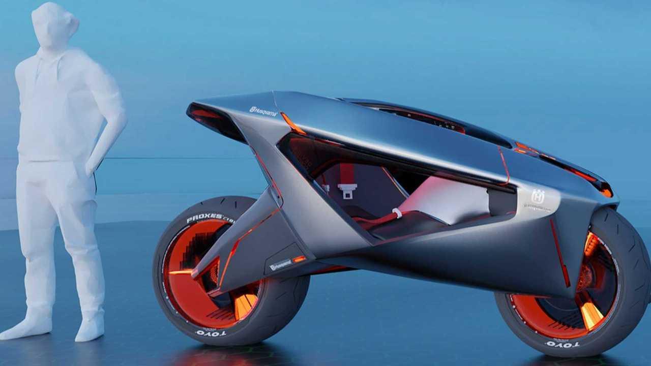 Design Student Envisions Firefly-Inspired Husqvarna Devil S Concept