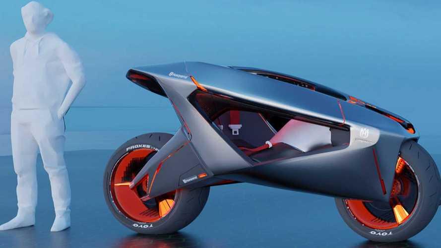 Design Student Envisions Firefly-Inspired Husqvarna Devil S