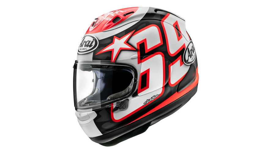 Arai Pays Tribute To Nicky Hayden With Corsair-X Reset Graphic