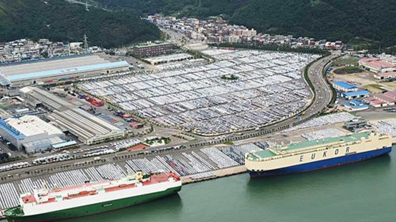 Lo stabilimento Hyundai di Ulsan