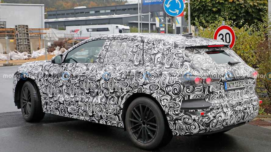 2022 Audi Q6 E-Tron Casus Fotoğrafları
