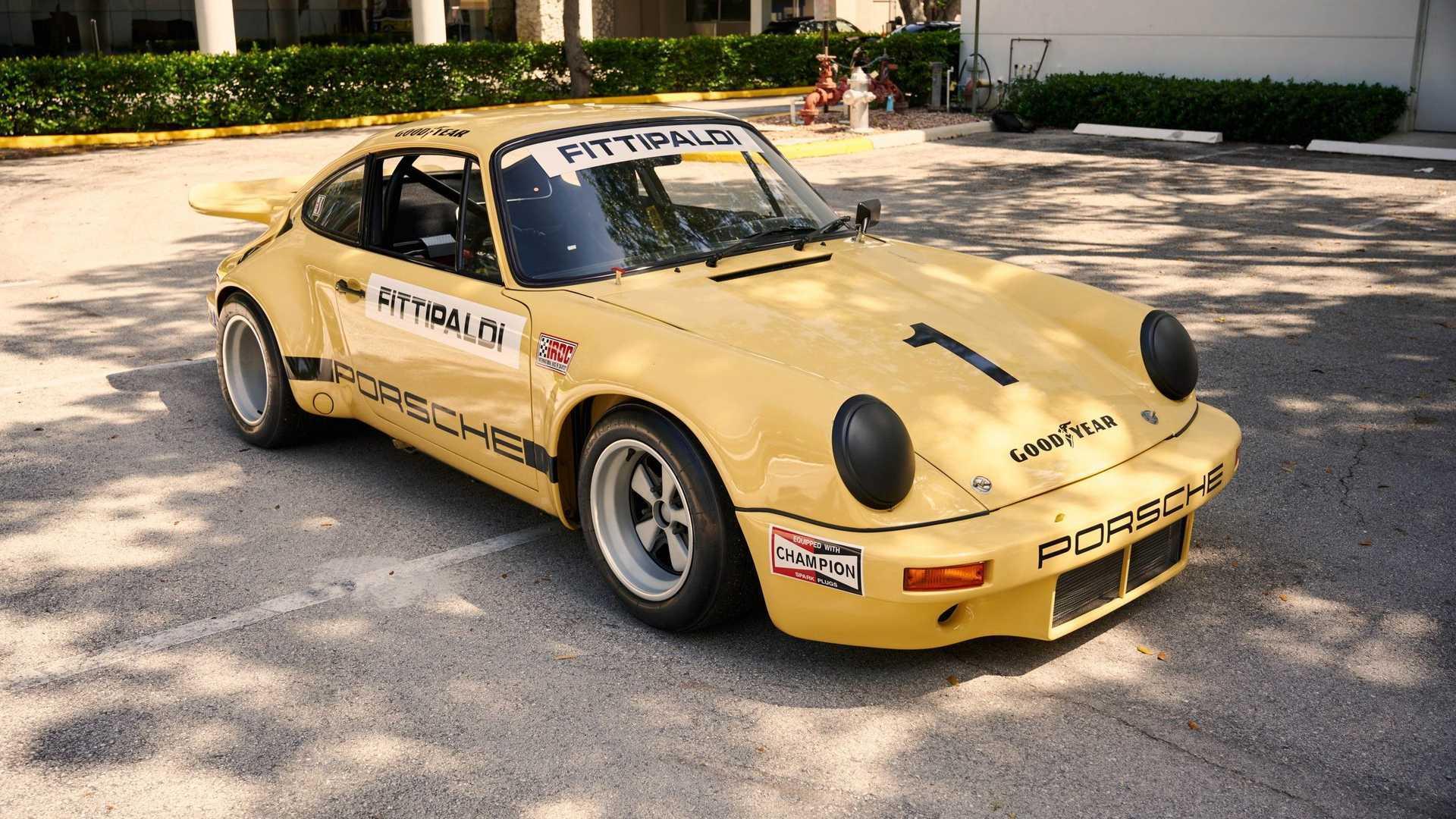 Pablo Escobar's Infamous Porsche 911 RSR IROC Is For Sale