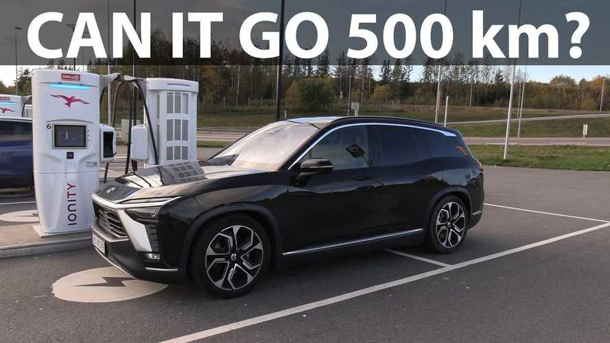NIO ES8 Beats Audi e-tron In Bjørn Nyland's Range Test