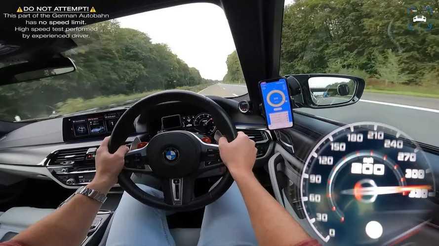Questa M5 da 1.000 CV sfreccia sulla Autobahn a oltre 300 km/h