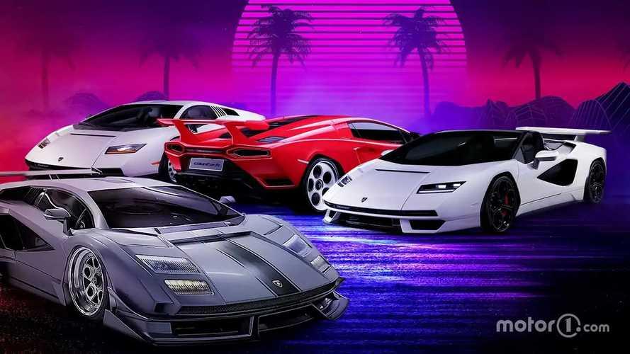 E se la Lamborghini Countach fosse stata così?