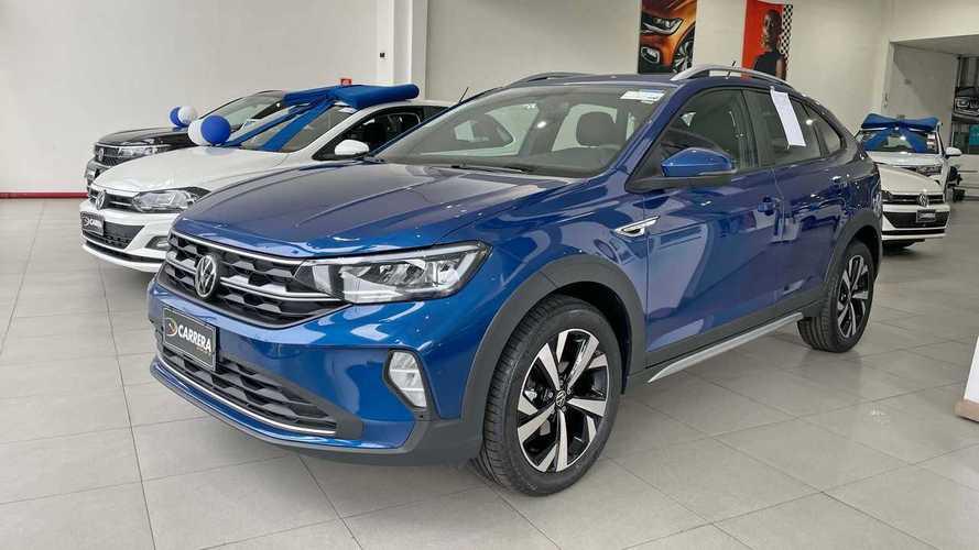 VW Nivus 2022 Azul Biscay: veja fotos da novidade nas lojas