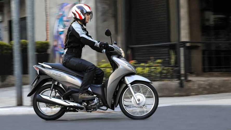 Honda Biz 110i e 125i 2022 - Brasil