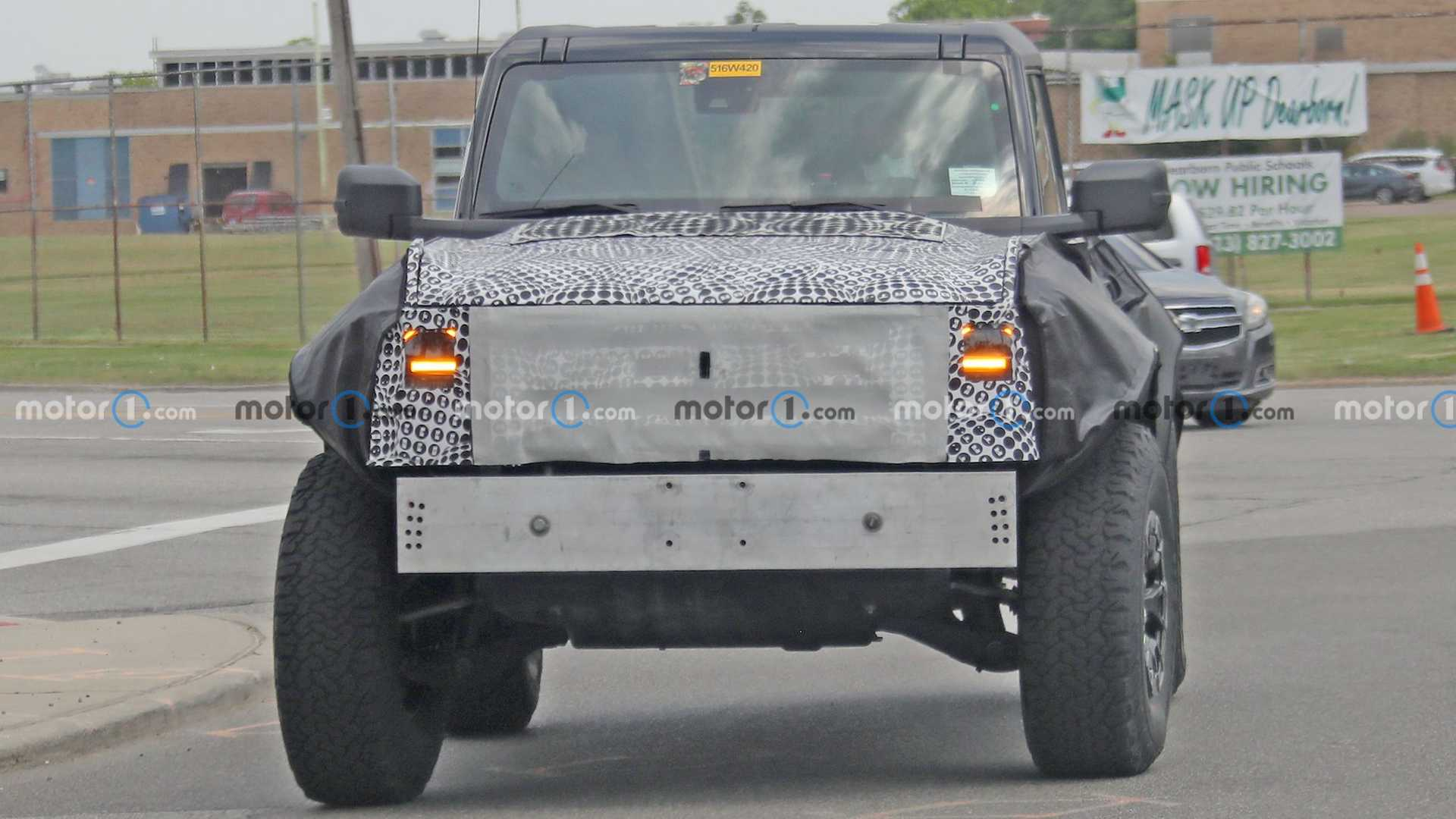 Nuevas fotos espía de la Ford Bronco Raptor