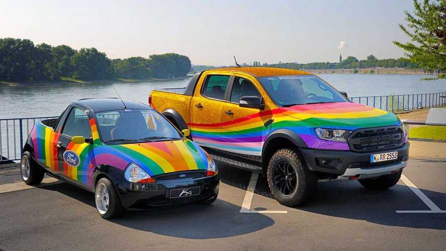 """Ford Ranger wird zum """"Very Gay Raptor"""" für ColognePride 2021"""