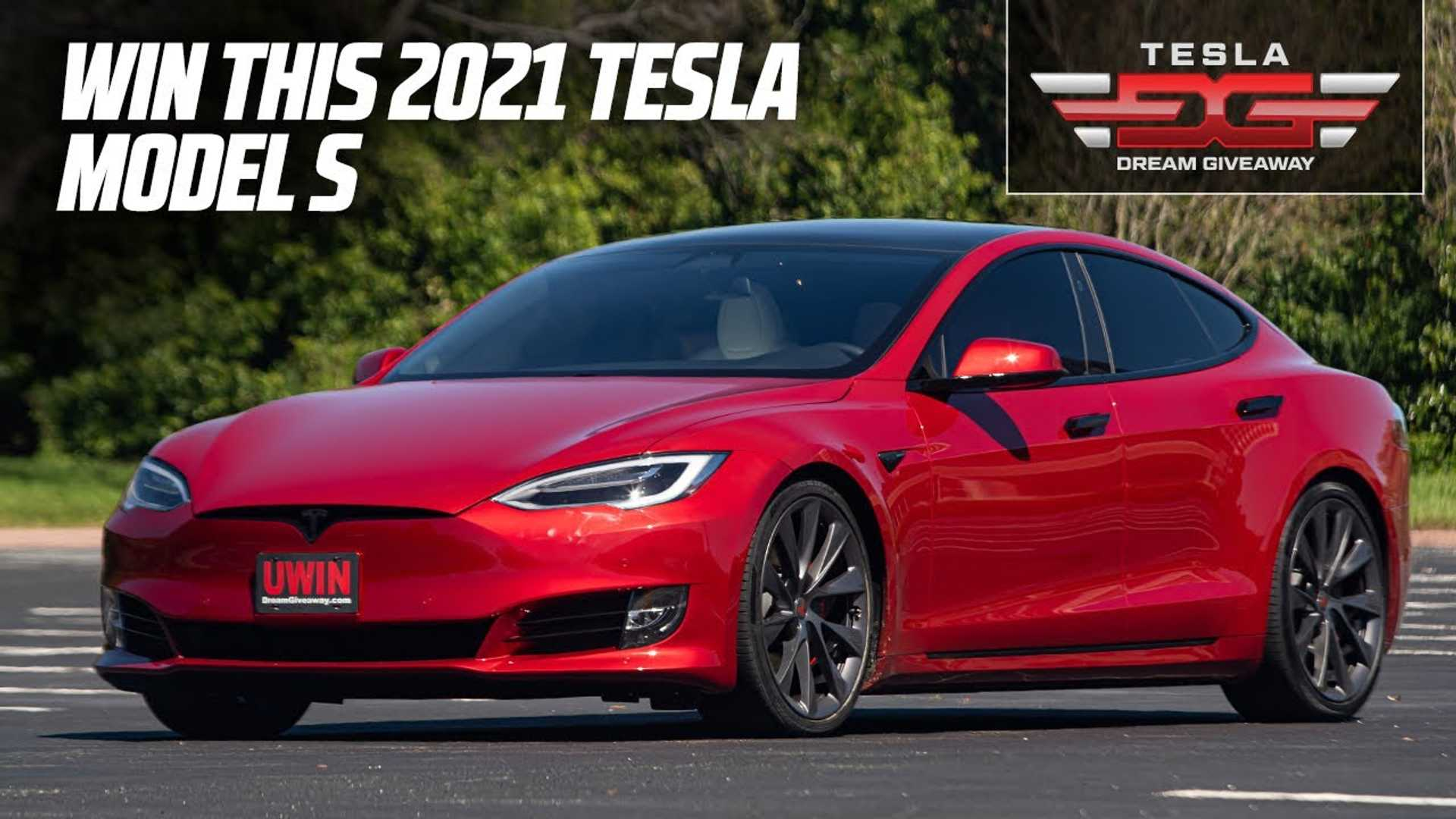 Enter Now To Win A 2021 Tesla Model S Performance Plus $27K Cash!