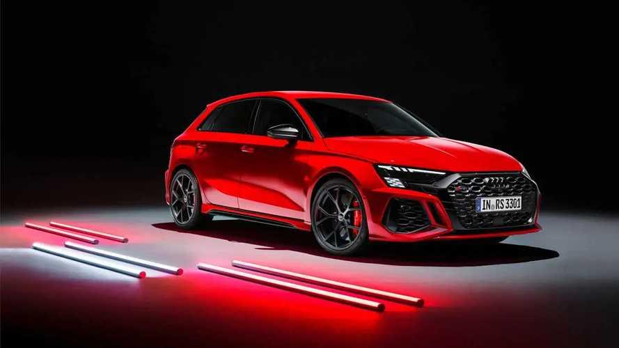 2022 Audi RS3 Debut
