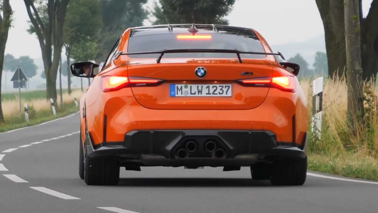 BMW M4 Performance videó