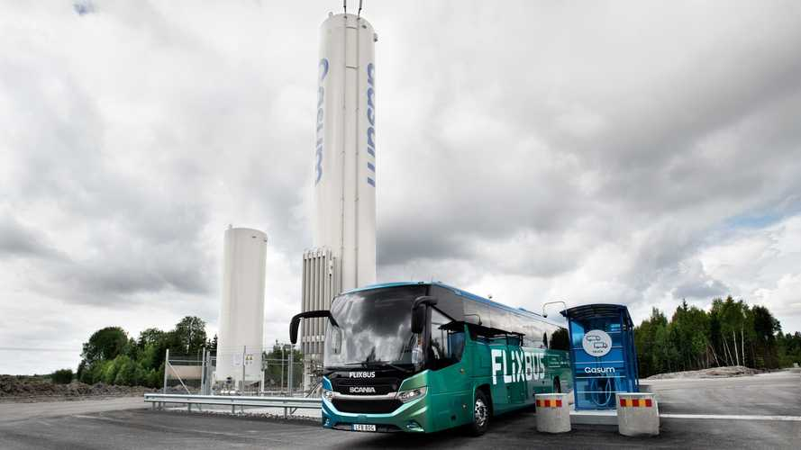 Scania, in anteprima il primo bus internazionale a biogas