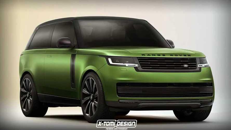 2022 Range Rover Gets A Two-Door Makeover In Unofficial Rendering