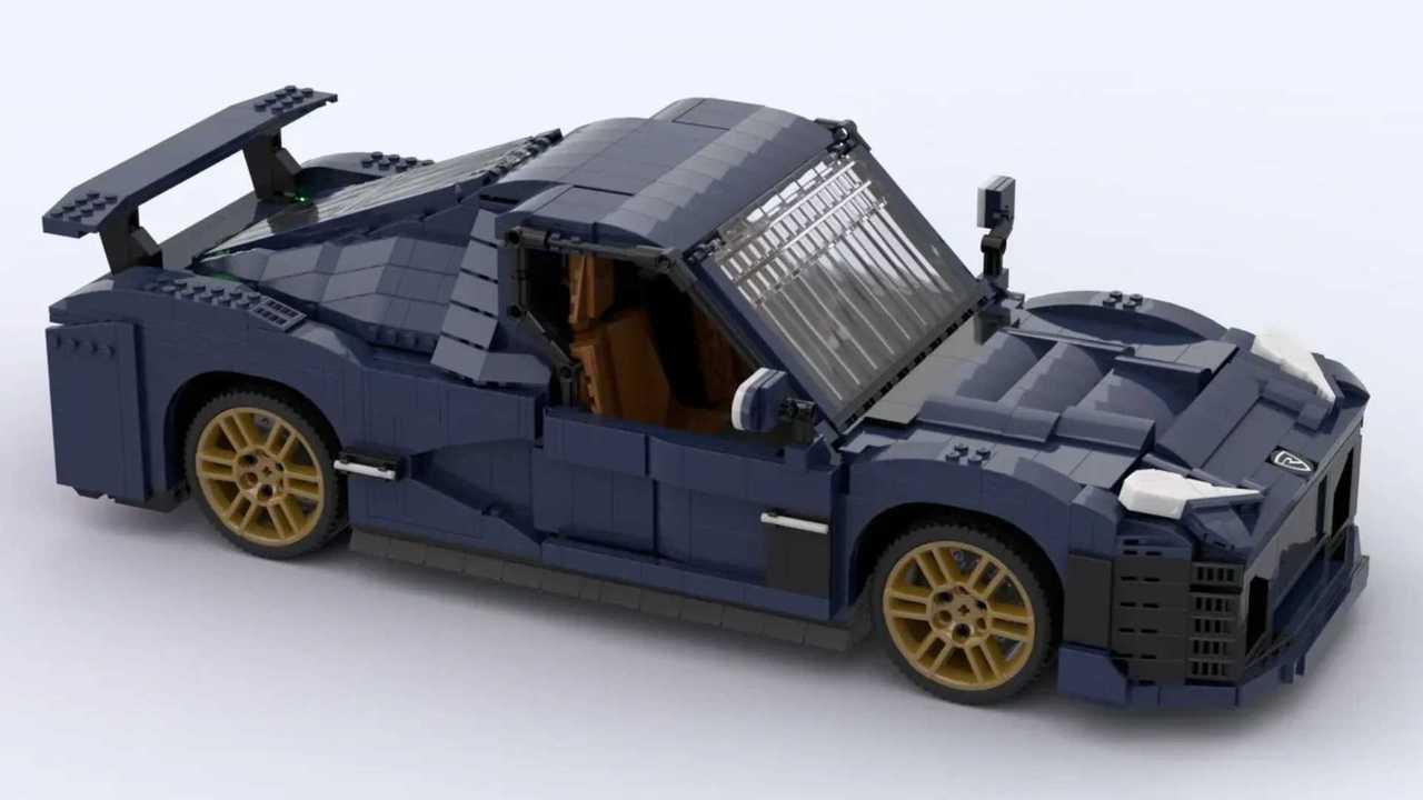 Lego Ideas Rimac Nevera