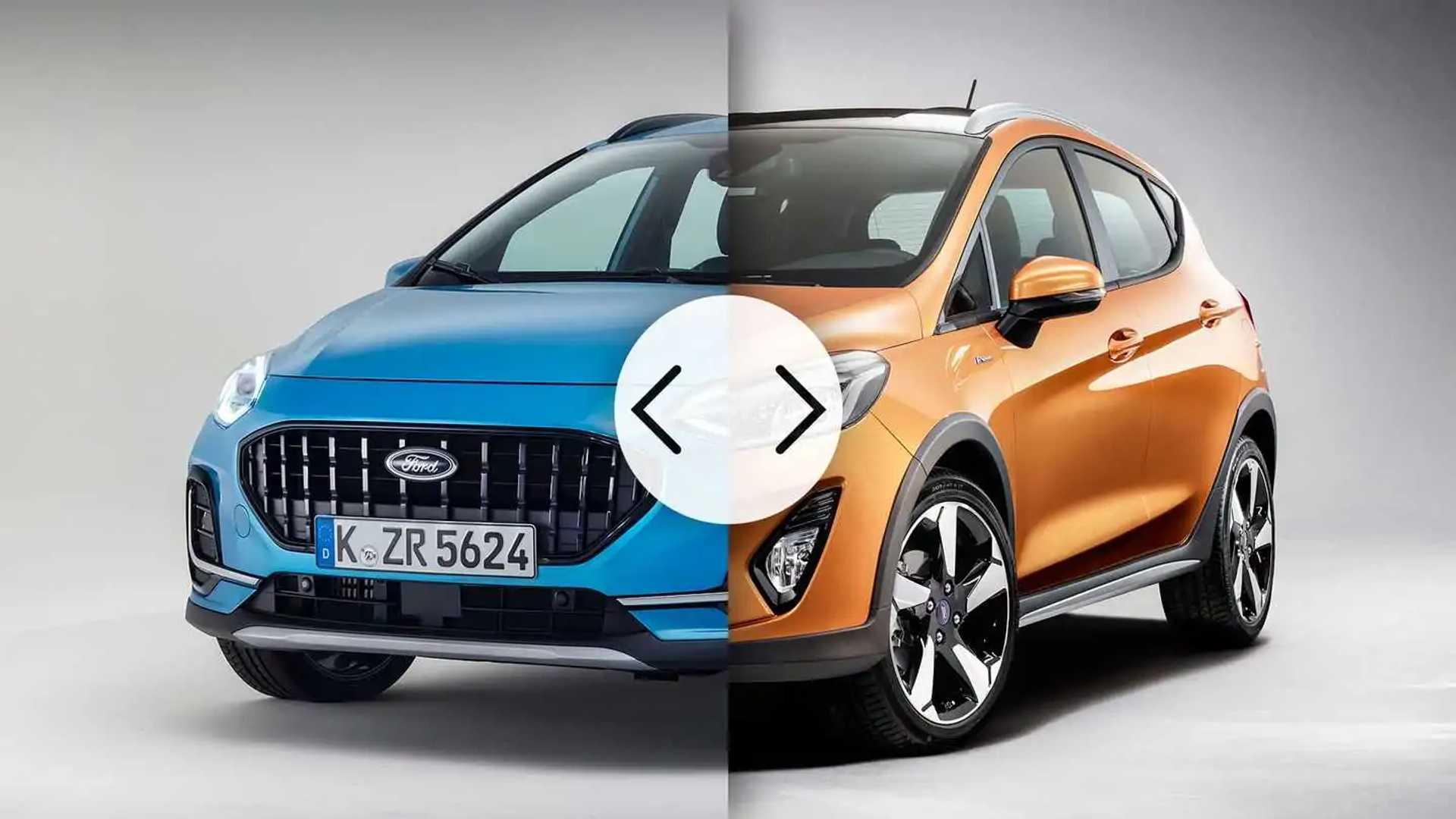 Ford Fiesta, cosa cambia prima e dopo il restyling