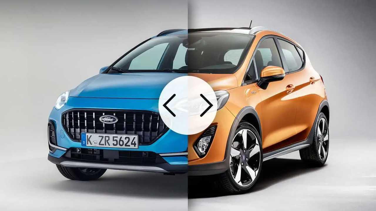 Ford Fiesta 2022 vs Ford Fiesta 2017