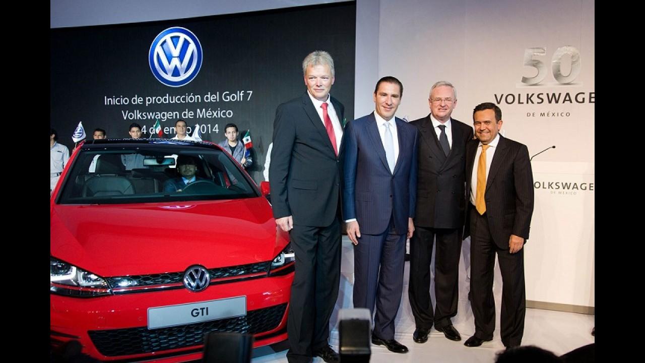 Novo Golf começa a ser feito no México; produção no Brasil está marcada para 2015