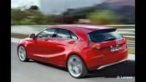 Mercedes-Benz em ação: Surgem projeções dos novos SLK 2011 e Classe A 2012