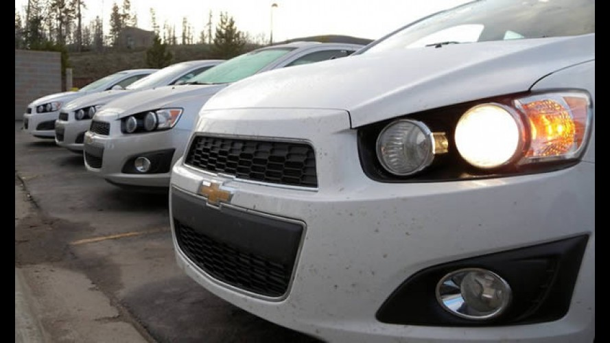 Chevrolet Sonic 2012 começa a ser produzido nos Estados Unidos