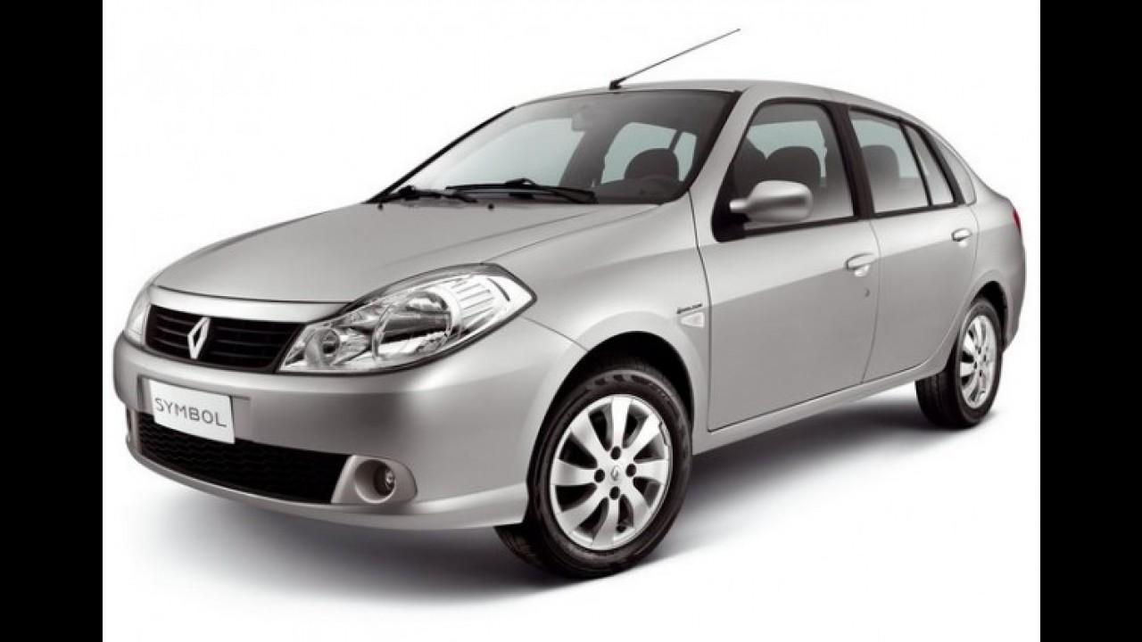 Renault Symbol sai de linha no Brasil