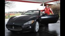 Alonso compra a novíssima Maseratti Gran Cabrio