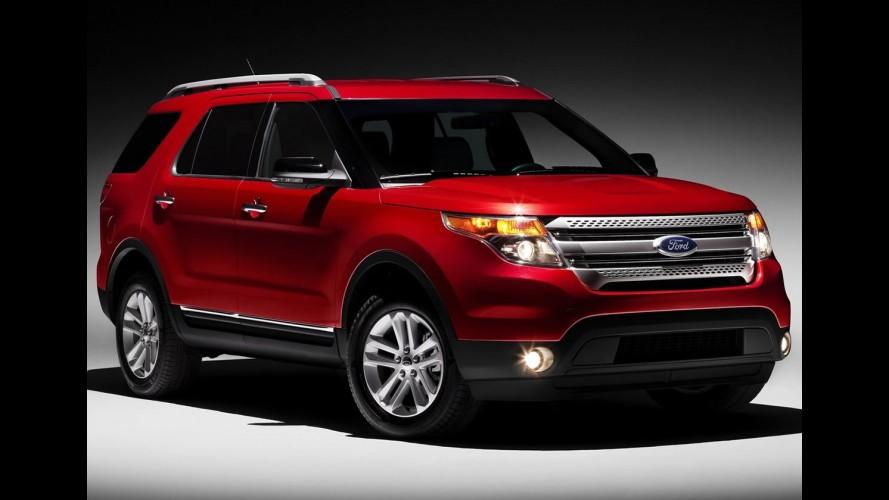 Ford apresenta o Novo Explorer 2011 - Veja galeria de fotos