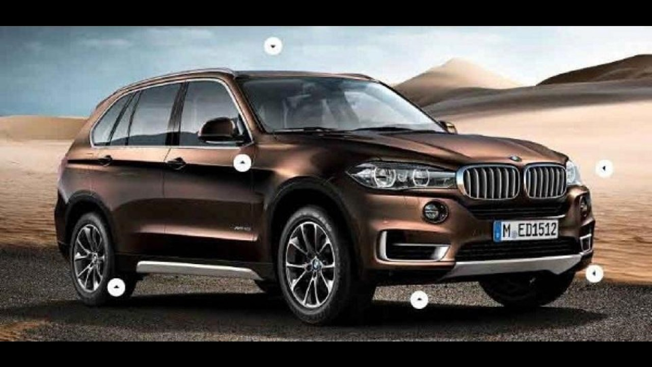 Vazou: Nova geração do BMW X5 aparece em primeiras imagens oficiais