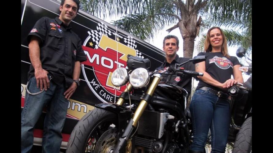 """Empresa oferece serviço inédito de """"Home Care"""" para motos"""