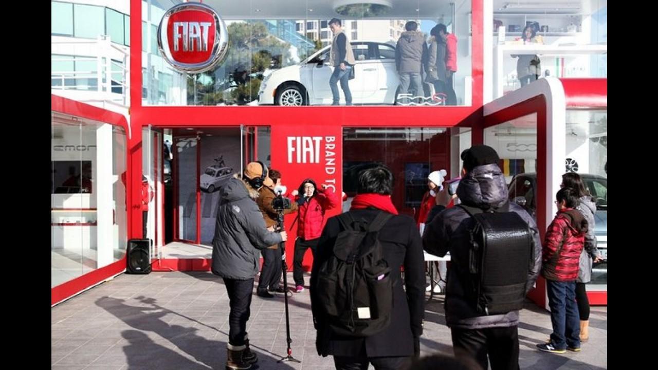 Fiat retorna à Coréia do Sul após 16 anos - Fiat 500 é o carro chefe