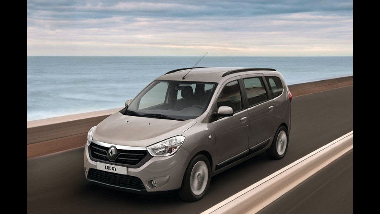 Dacia Lodgy ganha logotipo da Renault para o mercado ucraniano