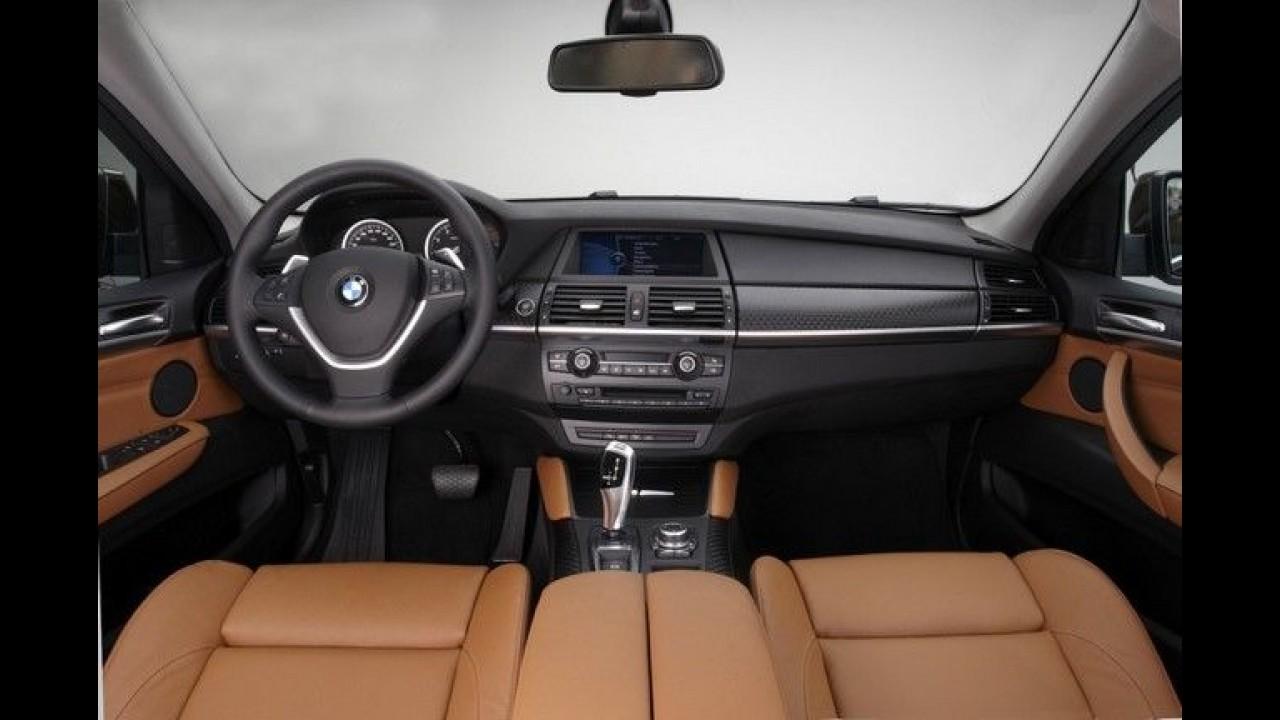 BMW X6 2013 tem imagens reveladas