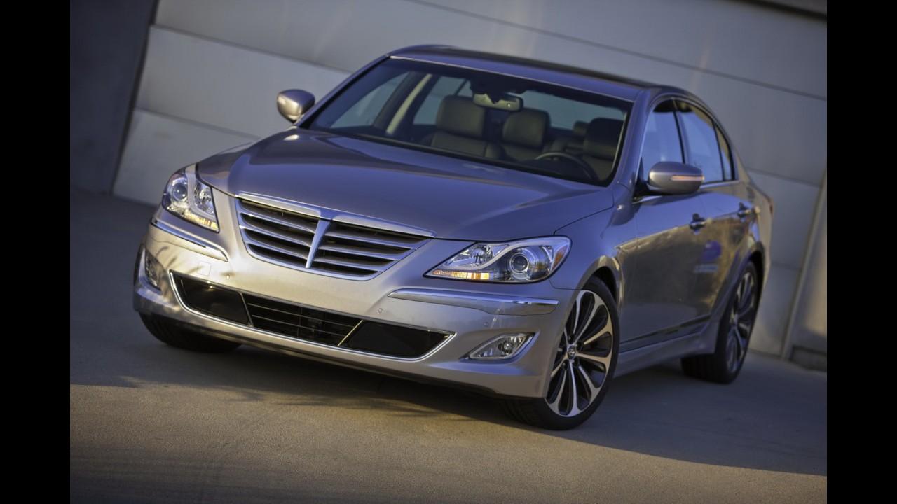 Hyundai planeja criar divisão de luxo com o nome Genesis nos EUA