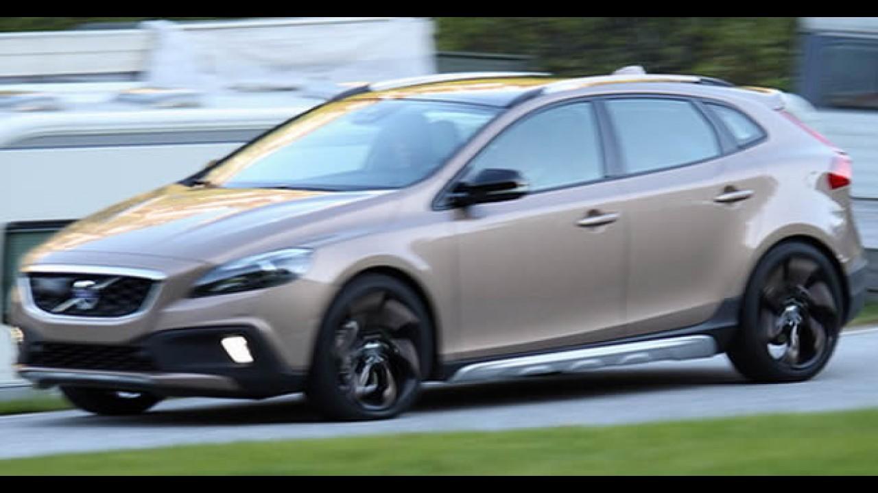 De novo: Flagra mostra Novo Volvo XC40 sem disfarces