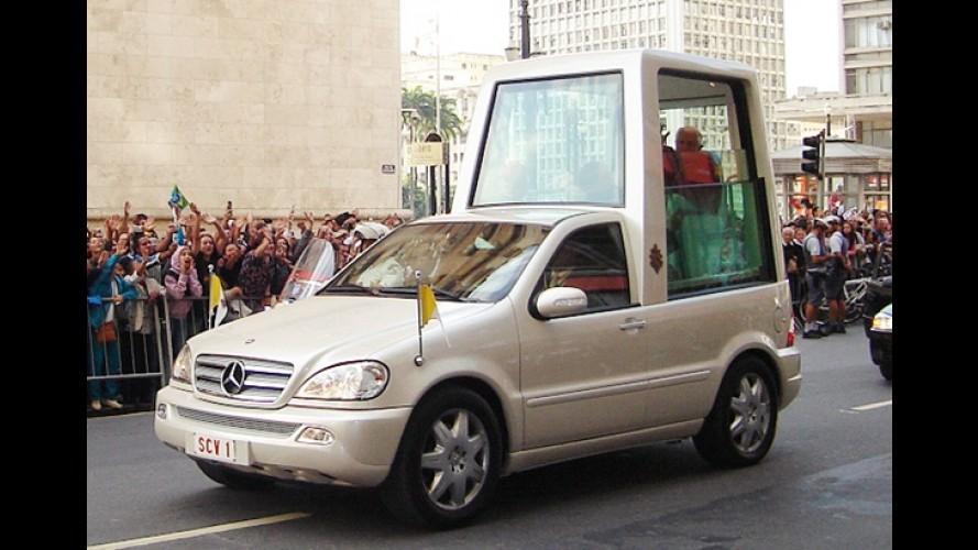 Mercedes-Benz: Papamóvel híbrido deve ser lançado até o fim do ano
