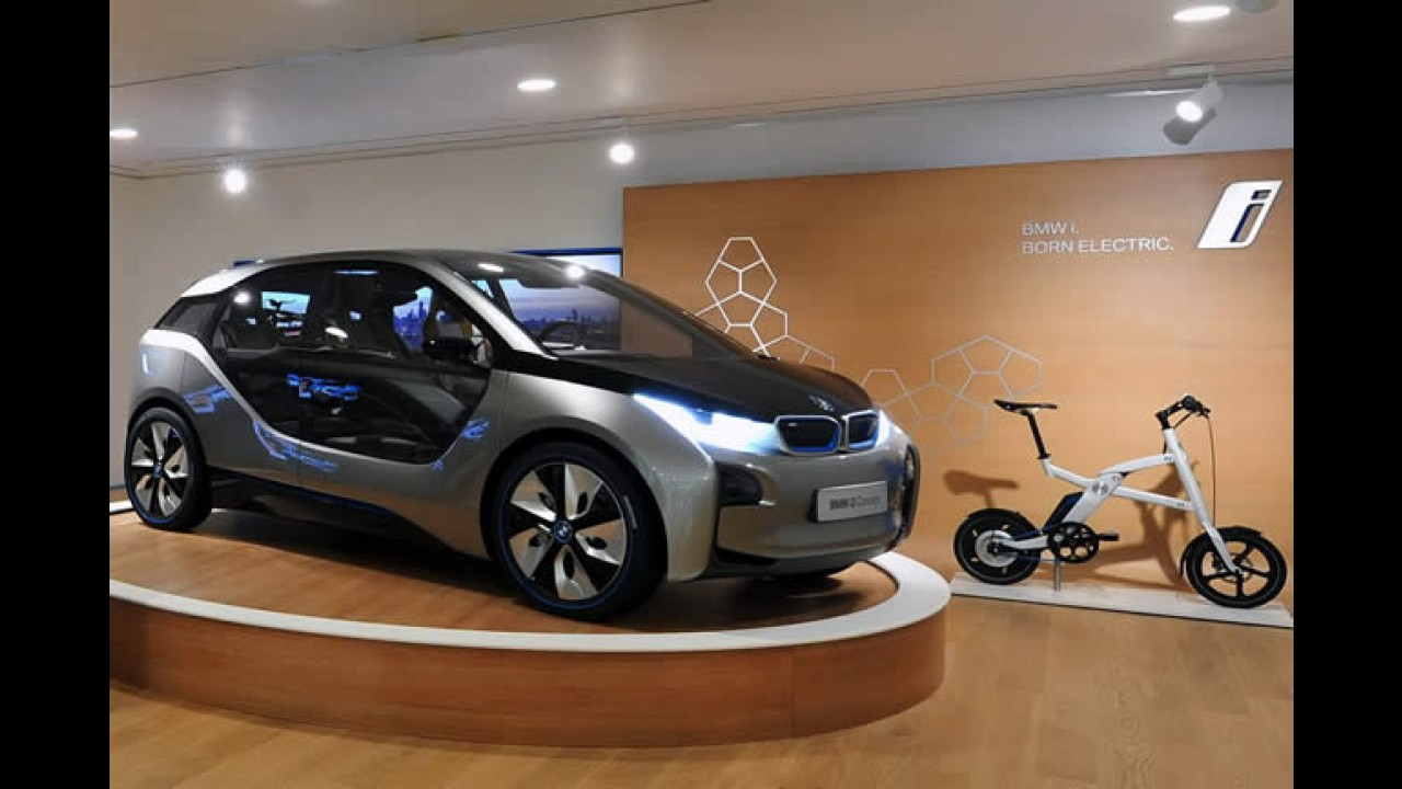 BMW Group inaugura a primeira BMW i Store do mundo