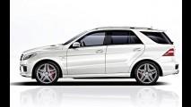 Mercedes-Benz ML63 AMG 2013 já tem preços definidos