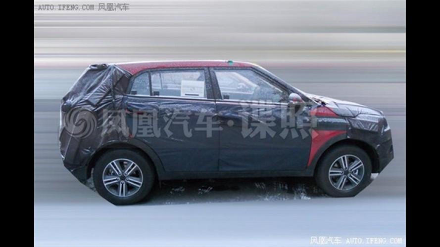 """Flagra: futuro jipinho Hyundai """"ix25"""" estreará com motor 1.0 turbo na China"""