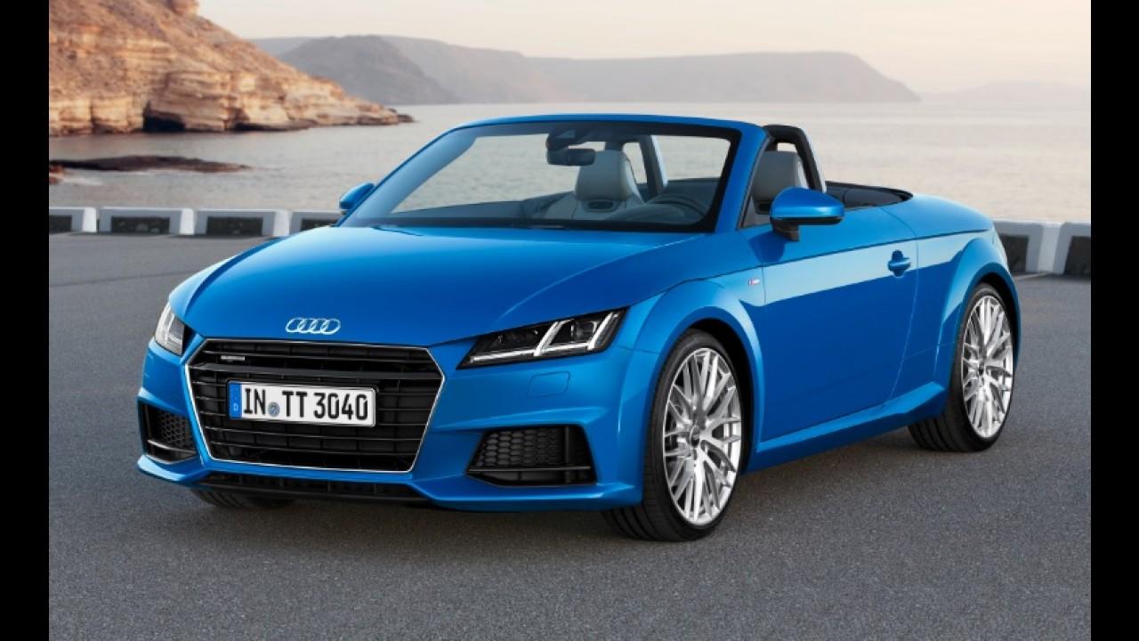 Audi vai trazer novo TT Roadster para o Salão do Automóvel