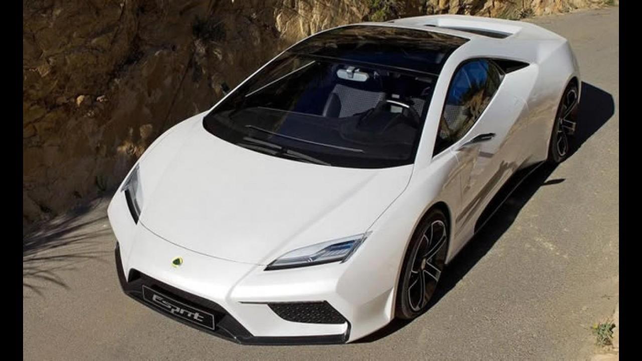 Superesportivo Lotus Esprit 2013 terá versão híbrida