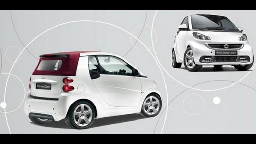 """Novo Smart Fortwo ganha série """"White Series Edition"""" na Espanha"""