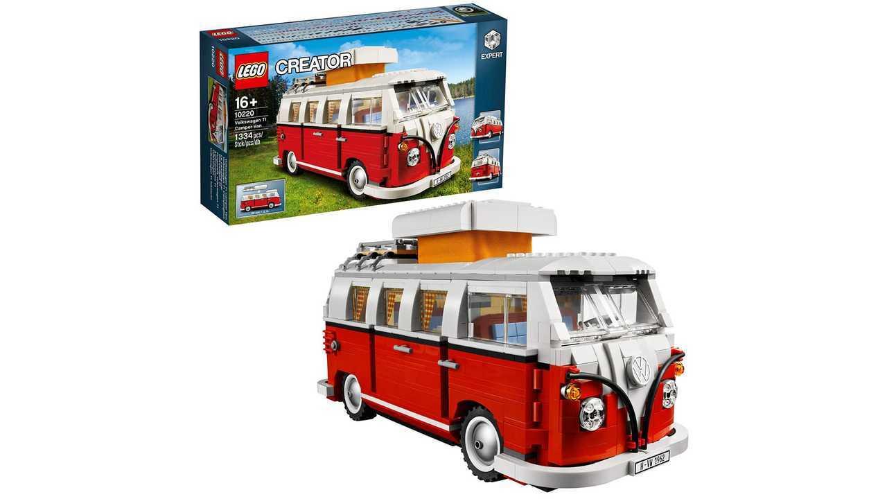 VW T1 Camper Lego