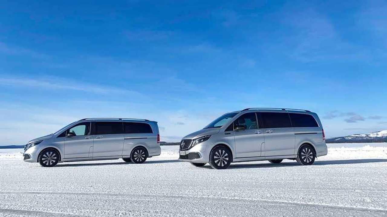 Mercedes-Benz EQV, de pruebas en el Círculo Polar Ártico