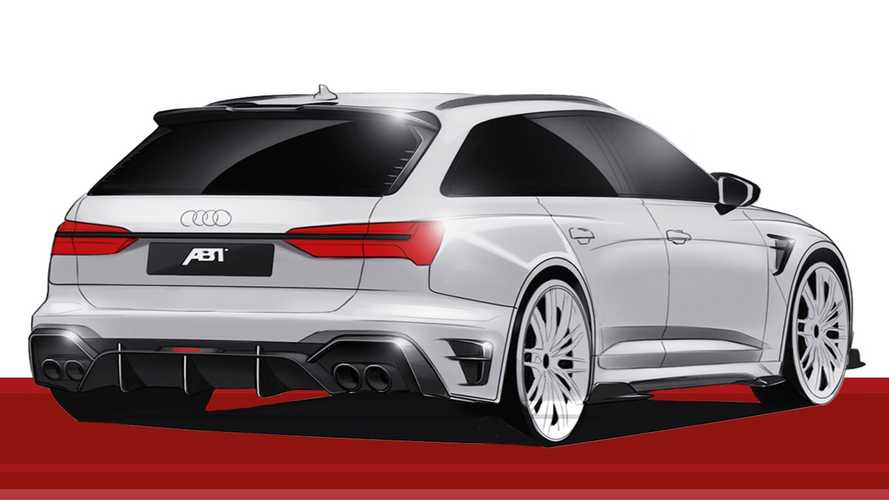 2020 ABT RS6-R based on the Audi RS6 Avant